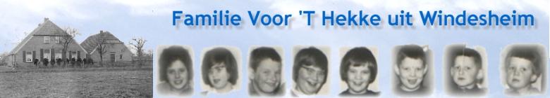 Voorthekke.NET - Site van de familie Voor 'T Hekke uit Windesheim